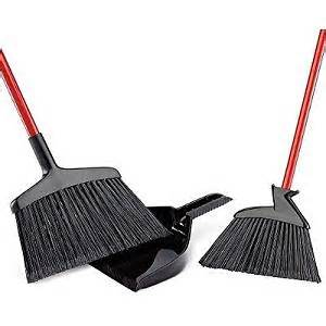 libman 2 brooms with dustpan set kitchen dining
