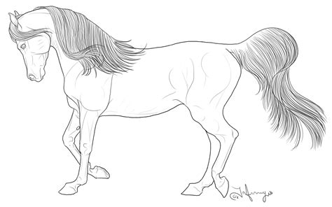 easy coloring pages of horses horse coloring pages coloringsuite com