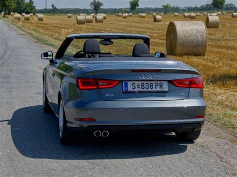 Audi A3 Cabrio Test by Audi A3 Cabrio 2 0 Tdi Testbericht Auto Motor At