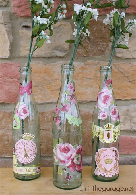 Decoupage Bottles - related keywords suggestions for decoupage bottles
