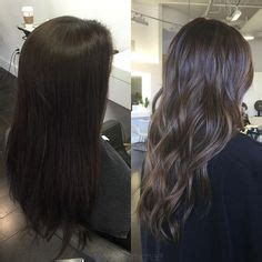 sculptured dimensional hair cut dimensional brunette baby highlights balayage ombr 233