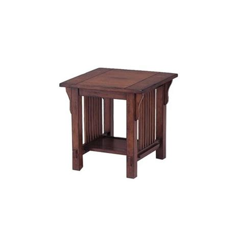 mission style accent table t22edp best home furnishings mission style end table
