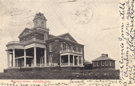 masonic home 1906 postcard