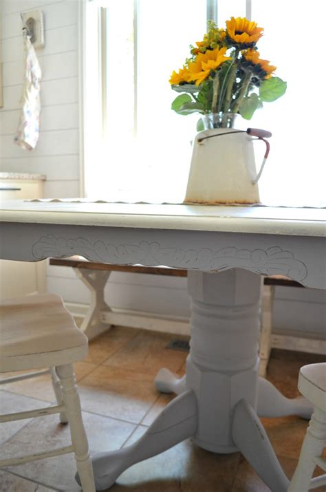 chalk paint dining table top chalk paint dining table makeover vintage nest