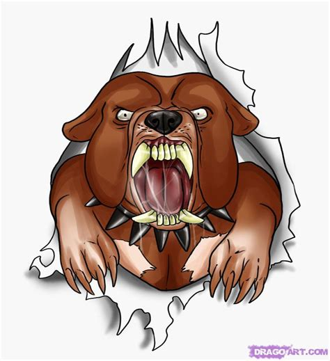 tattoo cartoon face how to draw a bulldog tattoo step by step tattoos pop
