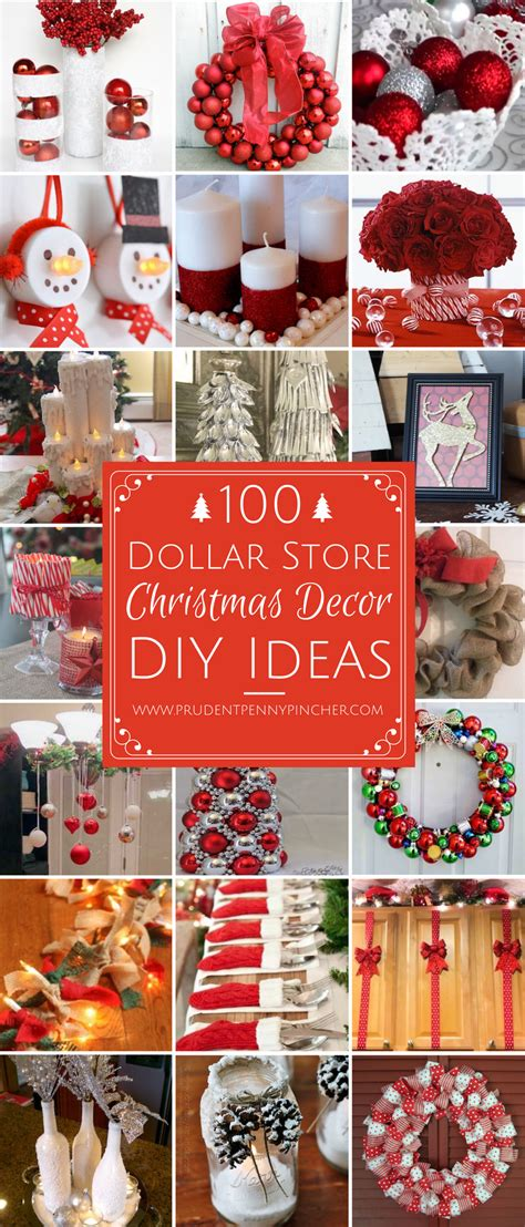 100 dollar store christmas decor diy ideas prudent penny