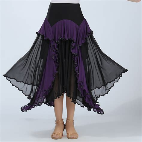 swing dance skirts modern dance skirt practice big swing skirts ballroom