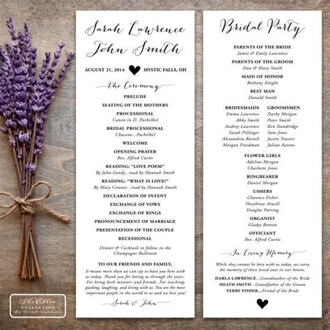 programs for wedding ceremony template 25 best ideas about wedding ceremony outline on