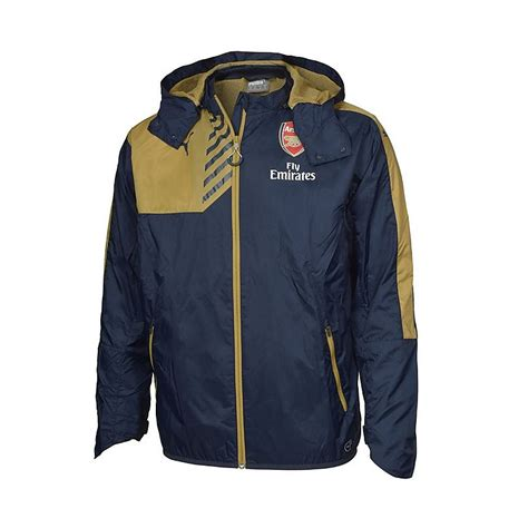 arsenal jacket arsenal rain jacket jackets clothing mens arsenal