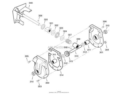 murray snowblower parts diagram murray 1695737 c950 52948 0 craftsman dual stage 30