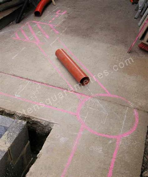 self build house extension drains planning self build house extension drains planning