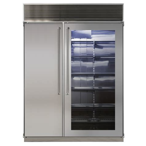 Refrigerator Freezer 60 quot side by side refrigerator freezer