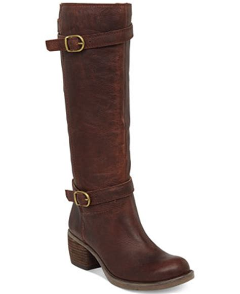 macy s lucky brand boots lucky brand s rorkie boots boots shoes macy s