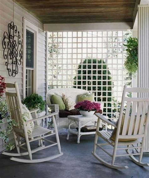 back porch ideas casual cottage 1000 images about porches on pinterest white wicker