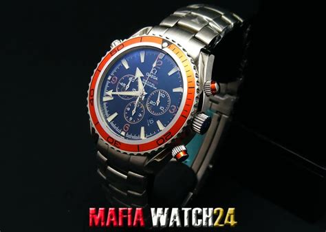 Omega Seamaster Quantum Of Solace 007 Chrono Orange m0347นาฬ กา omega seamaster planet chronograph 45 5 mm 007 quantum of solace limited