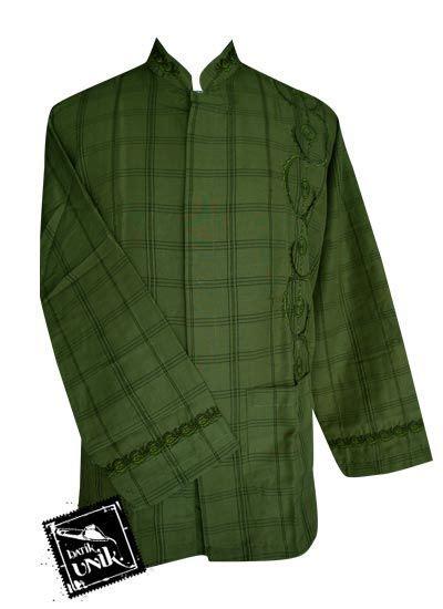 Mukena Kotak Bordir baju batik koko exclusive motif kotak aplikasi bordir