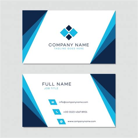 Free Vectors Business Card Templates by Business Card Template Vector Free