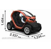 Renault Twizy 2012 Dimensions Boot Space And Interior