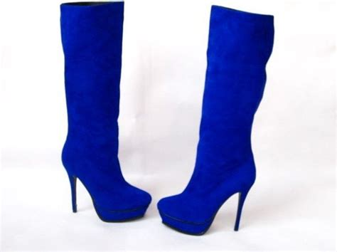 blue high heel boots blue high heel boots fs heel