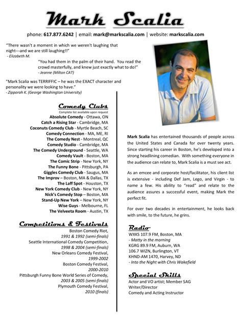 Resumes With Pictures by Resume 171 Scalia