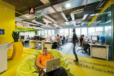 google office design philosophy google s new office in dublin
