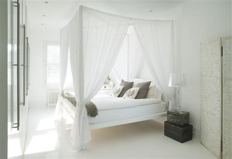 White Canopy Bed Designer Homes Whites Amberth Interior Design And Lifestyle