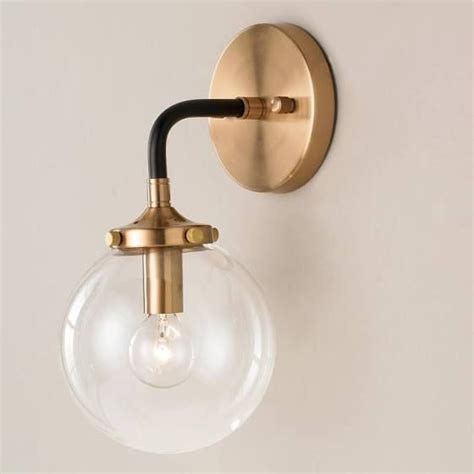 Black Bathroom Sconce 25 Best Ideas About Bathroom Sconces On