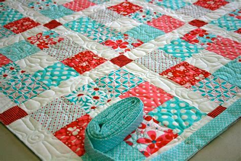 Nine Patch Quilt by Get Sewing A Fresh 9 Patch Project To Motivate You Not