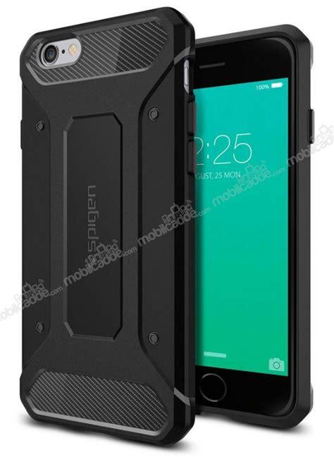 Spigen Rugged Armor Iphone 6s Plus 6 Plus Black Sgp11643 spigen rugged armor iphone 6 plus 6s plus siyah k箟l箟f