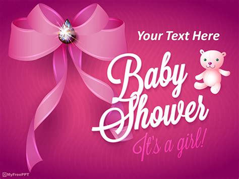 Free Kids Powerpoint Templates Themes Ppt Baby Shower Powerpoint Templates