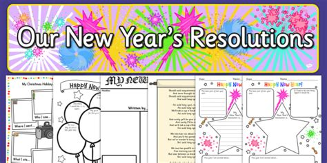 new year twinkl new years resolution resource pack new years resolution