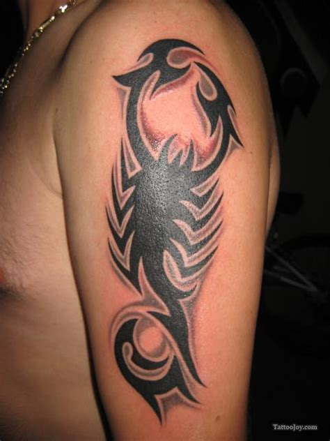 scorpion tribal tattoo images meaning designs