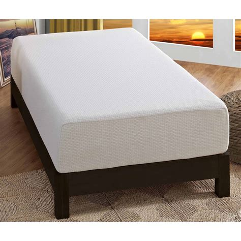Spa Sensations Memory Foam Mattress Spa Sensations 12 Quot Theratouch Memory Foam Mattress