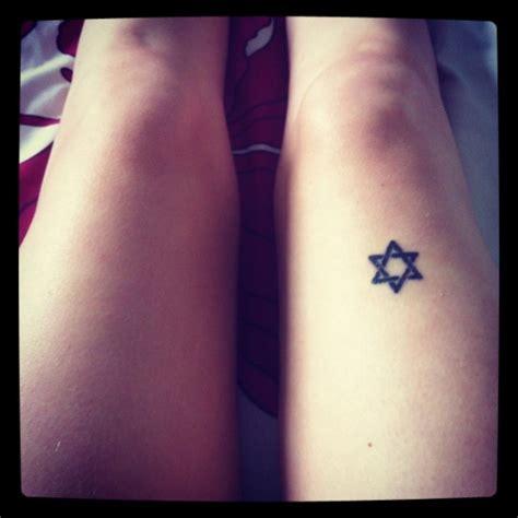 star of david tattoo of david on leg tattoos