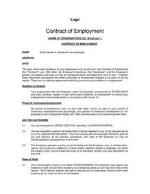Employee Contract Template Uk by Printable Sle Employment Contract Sle Form