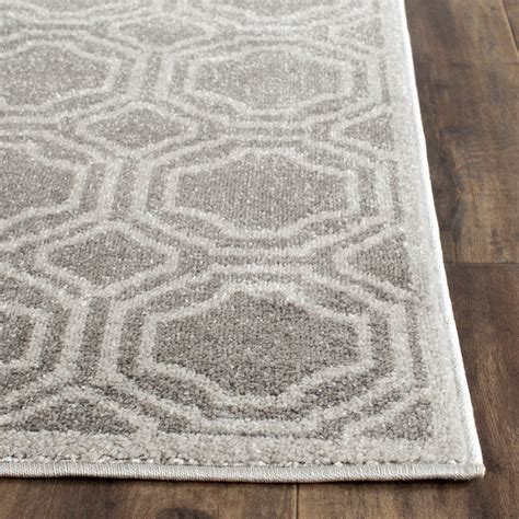 gray outdoor rug safavieh amherst grey light grey outdoor area rug reviews wayfair