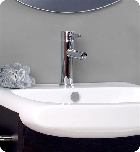bathroom fauset fresca distinto modern bathroom vanity with dark wood