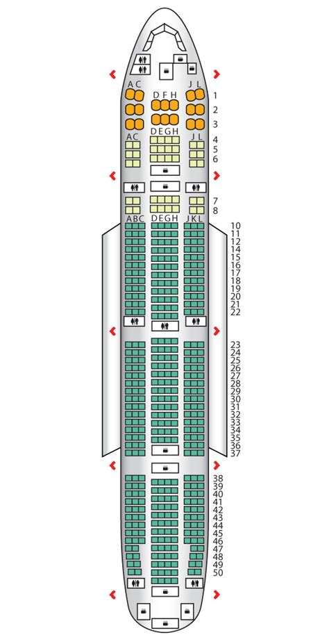 boeing 777 floor plan photo boeing 777 300 seat map images photo boeing 777