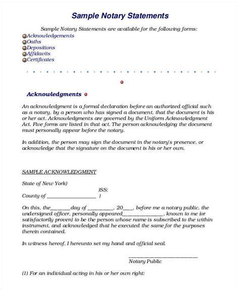 18 sworn statement exles sles in pdf