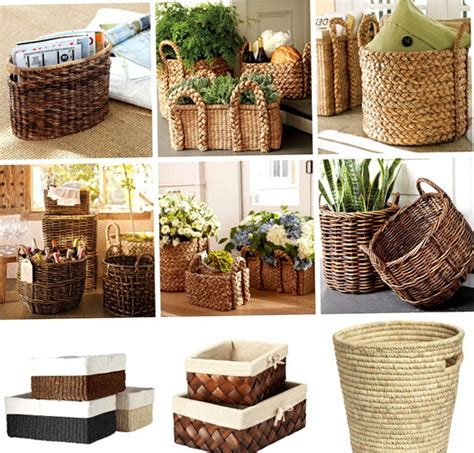 Decorating Ideas With Baskets A Lovely Picture Of Wicker Baskets For The Family Best
