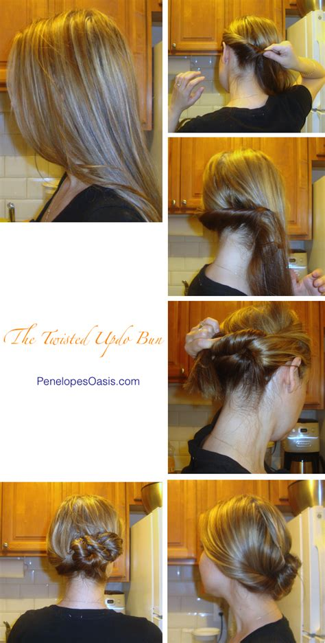 twisted side bun updo hairstyles tutorial popular haircuts hairstyles and tutorials