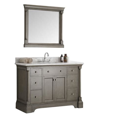 fresca bathroom vanities fresca kingston 48 in vanity in antique silver with