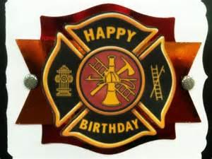 firefighter birthday card ken s kreations