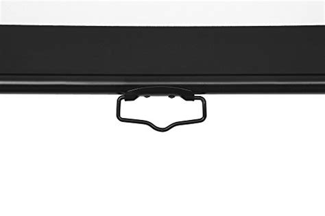 Screen Projector Manual 80 Inci vonhaus 80 inch widescreen projector screen manual pull