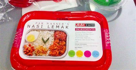 airasia makanan airasia lancar menu dalam pesawat bertemakan quot santan quot mrm
