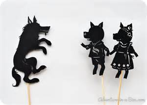 free shadow puppet templates three pig shadow puppet printables adventure in a box
