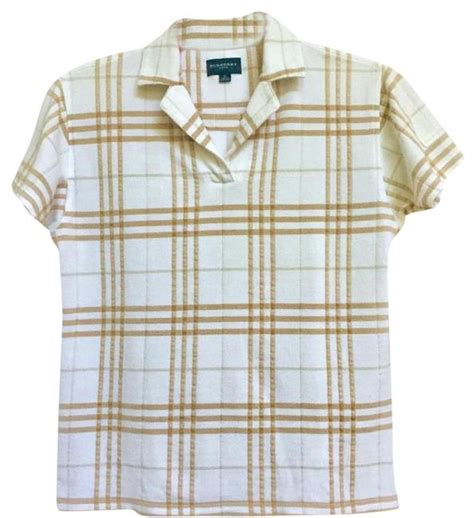 Burberrys Signature Pattern Checks Out And Win 100 To Spend At River Island The Best Stories From Shiny Media by Burberry White Plaid Woven Pattern Activewear Top Size