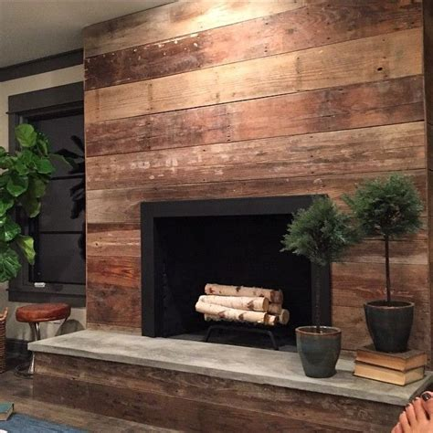 Reclaimed Wood Shiplap 110 Best Images About Fireplace Finishes On