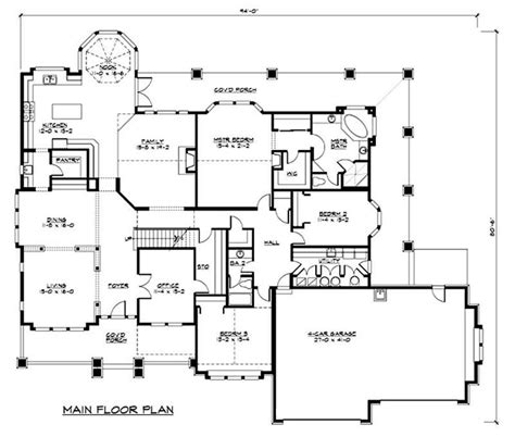 62 luxury collection of 20 20 house plans floor and house luxury house plan 2 bedrms 2 baths 4000 sq ft 115 1156