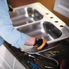 how to install a drop in kitchen sink kitchen ideas how to guides at the home depot